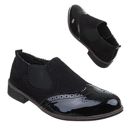 Ital-Design Women's Slippers Black tO77SKKs
