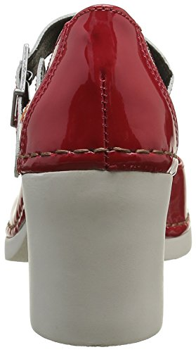 Abierto Zapatos Talón Charol De 557f Red Rouge Art Cannes Mujer SXTqEEH