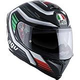 AGV K-5 S Firerace Black/Italy Full Face Helmet, XL