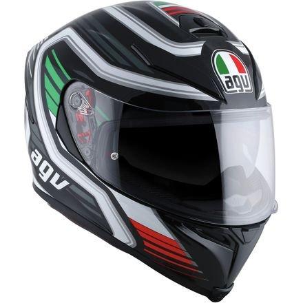 AGV K-5 S Firerace Black/Italy Full Face Helmet, XL by AGV
