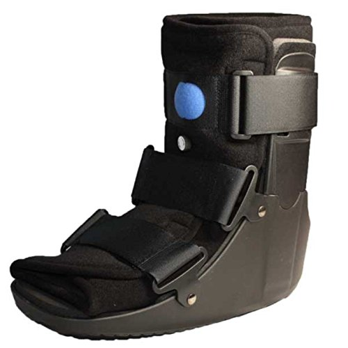 Premium Low Profile Air Walker Boot Fracture Short Brace (Large, Blue) by Arx Medical