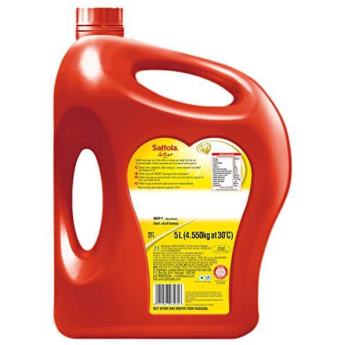 Saffola Active, Pro Weight Watchers Edible Oil, Jar, 5 L 7