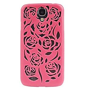 ZL Hollow Out Flower Pattern Protective Case for Samsung Galaxy S4 i9500(Assorted Color) , Yellow