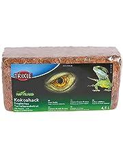 Trixie Coco Husks Tropical Terrarium Substraat, 4,5 liter, 1 pak