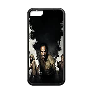 Best Designed Hot TV Play The Walking Dead Case Cover Protector Compatible with ipod touch 4 touch 4 TPU (Laser Technology)