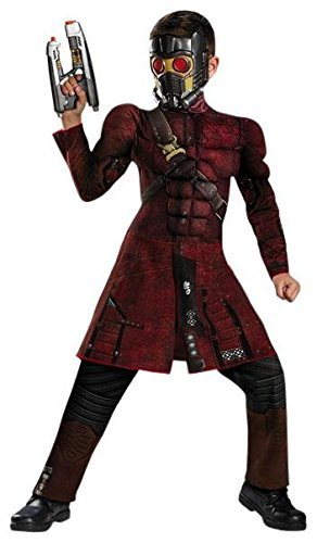 Star Costumes For Children (Disguise Marvel Guardians of The Galaxy Star-Lord Classic Muscle Boys Costume, Small/4-6)