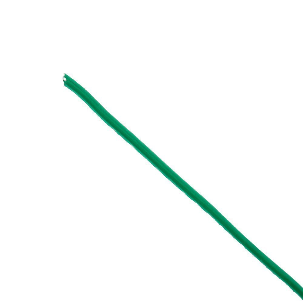 Garden Coated Twist Wire - 164 feet Long Green Strings Spool For Plant Support, Bundle Bread Bags, Strap Cables ,1 roll with Built-in Cutter, Soft and Easy to Bend, 1 Year Warranty for Quality Issue KUNHONG