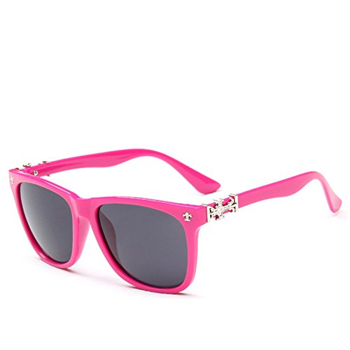 Y-H Star Style South Korea Trend Popular Fashion Retro Unisex-adult Sunglasses(C9) (Female Cartoon Characters Names)