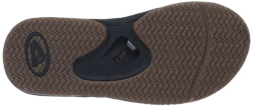 Reef Leather Fanning RF-002416 - Chanclas para hombre Brown Plaid