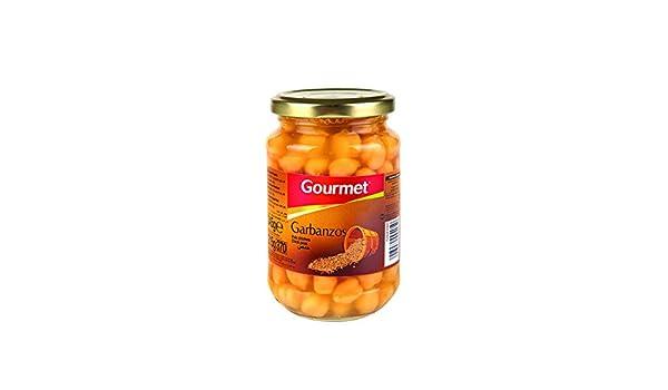 Gourmet - Garbanzos - Primera - 305 g - [Pack de 12]: Amazon.es ...