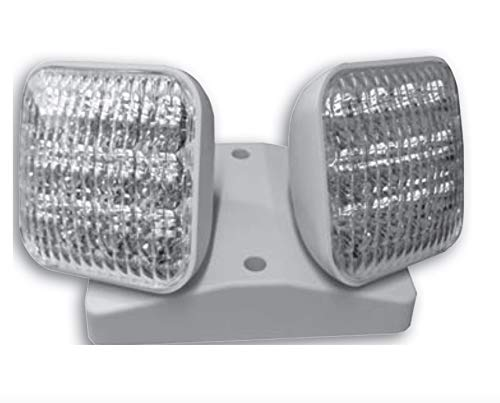 Long Lasting Ultra Bright LED with Chrome Plated Reflector, R1 Remote Head, LED Combo Remote, Double Head, Thermoplastic Housing, Universal Mounting Base mounts, Wet Location