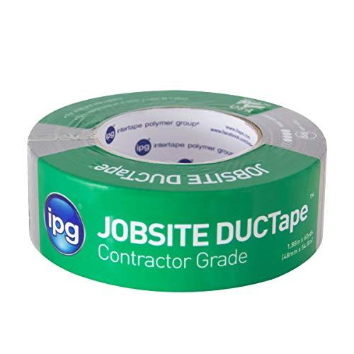 IPG JobSite DUCTape, Contractor Grade Duct Tape,  1.88