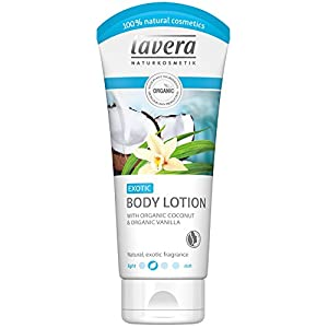 lavera Exotic Body Lotion , Organic Vanilla/Coconut