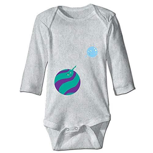 Grandkids Jumpsuit Soft Onesie Romper Comfy Bodysuit Bros in Orbit Creeper