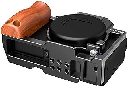 Taoric Metallkaninchenkäfig Schutzhülle Mit Holzgriff Elektronik