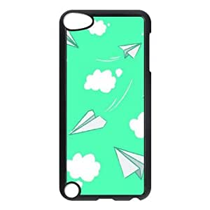 WJHSSB Customized Print Airplane Pattern Hard Case for iPod Touch 5