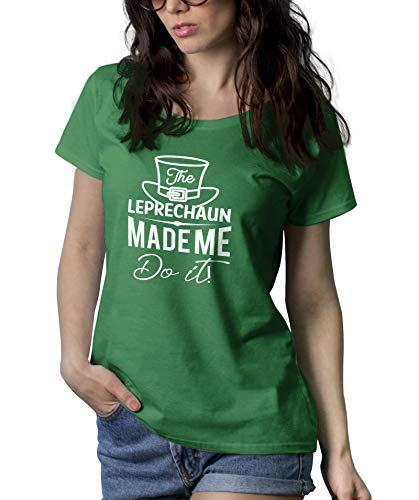 Green St Patricks Day Shenanigans Shirt | Made Me, M