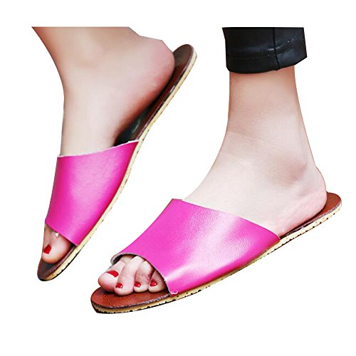 pour TELLW Chaussons femme TELLW Rose Chaussons PqvHYwt