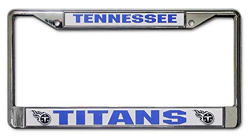 Aiden Eletina Tennessee Titans Chrome License Plate Frame