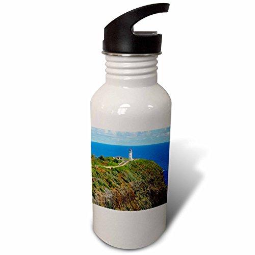 3dRose Danita Delimont - Lighthouse - Kilauea Point National Wildlife Refuge, Lighthouse, Kauai, Hawaii - Flip Straw 21oz Water Bottle (wb_230644_2)