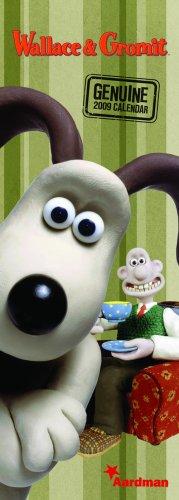 """Official """"Wallace & Gromit"""" Slim Calendar 2009 2009"""