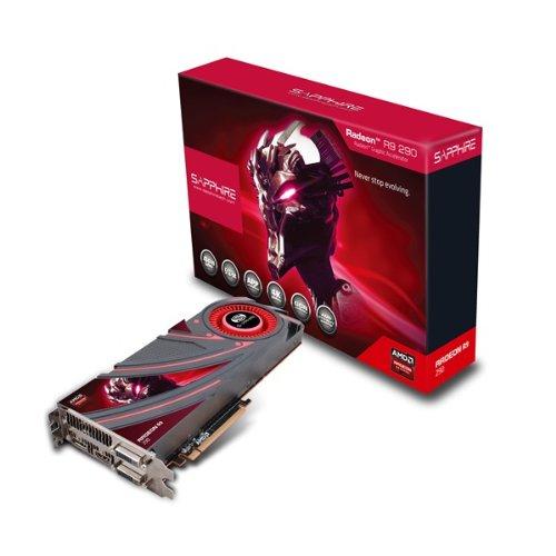 Tarjeta gráfica Sapphire Radeon R9 290 4GB GDDR5 Dual DVI-D / HDMI / DP PCI-Express (21227-00-40G)