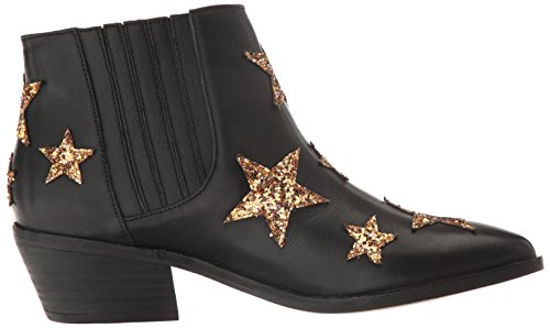 Blanchisserie Chinoise Womens Fayme Western Boot Cuir Noir