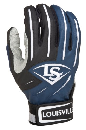 Louisville Slugger BG Series 5 Batting Glove, Navy, XX-Large