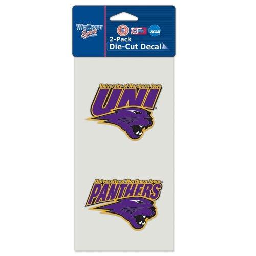 (Wincraft NCAA Northern Iowa Perfect Cut Decal (Set of 2), 4