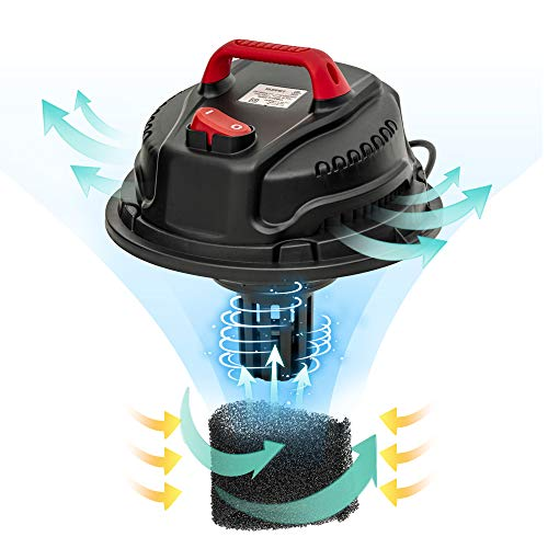 KUPPET 3-in-1 Wet/Dry Vacuum Cleaner, Shop Vacuum with Attachments, 5 Gallon, 5.5 Peak HP, 16Kpa Powerful Suction, 20L… 4