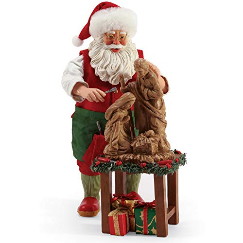 (Department 56 Possible Dreams Santas Sports and Leisure Beautiful Creation Figurine, 10.5