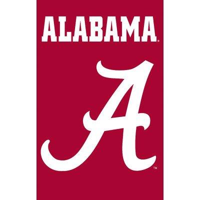 NCAA Appliqué House Flag NCAA Team: Alabama