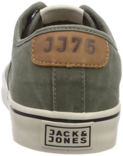 grün da Sneaker Low Sneakers JJSurf Uomo Cotton amp; Lichen Green Deep Lichen Verde G JONES JACK Deep OvnUxXwO