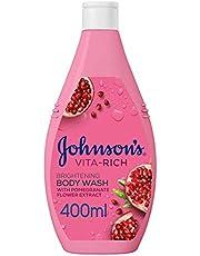 JOHNSON'S, Body Wash, Vita-Rich, Brightening