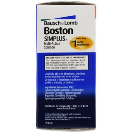 PACK OF 6 - Boston: Simplus Travel Kit Multi-Action Solution, 1 Fl Oz by Generic (Image #2)