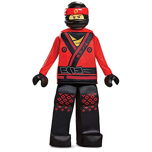 Disguise Kai Lego Ninjago Movie Prestige Costume, Red,