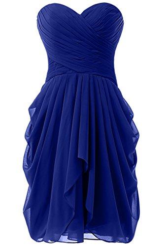 royal blue bridesmaid dresses - 8