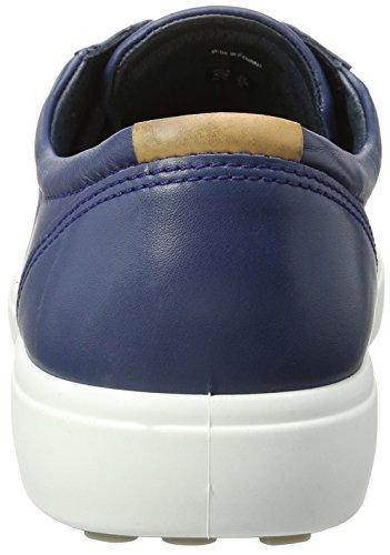 Ecco Herren Zachte 7 Mannen Lage Sneakers Blau (1048true Navy)