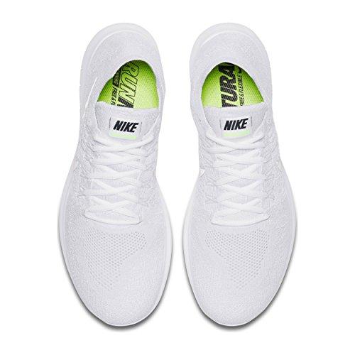White da Bianco White Running Free Scarpe Black Flyknit Uomo 2017 RN 100 Pure Nike Trail Platinum wHvTqUX