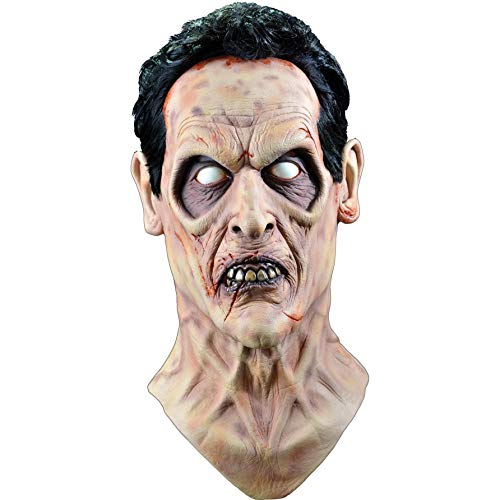 Trick or Treat Studios Men's Evil Dead 2-Evil Ash Mask, Multi, One Size