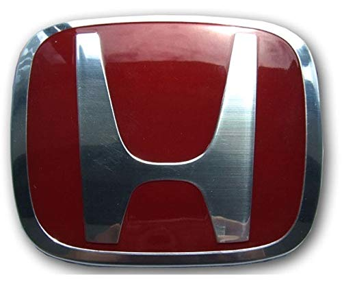 Civic Type R EP3 2001-2003 Prefacelift Front Grill Badge RED ORIGINAL