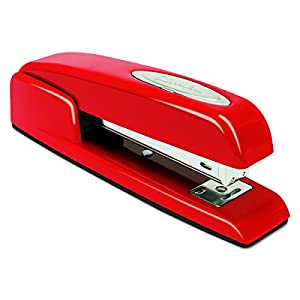 Swingline Stapler, 747, Manual, 25 Sheets Capacity, Business, Desktop, Rio Red (74736)