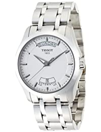 Tissot Men's Couturier T035.407.11.031.00 White Stainless-Steel Automatic Watch