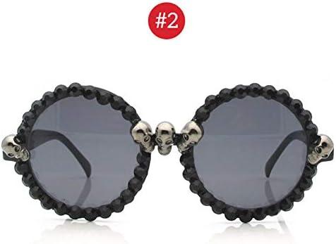 LLLM Gafas de sol Las Mujeres Gafas de Sol de Diamantes de ...
