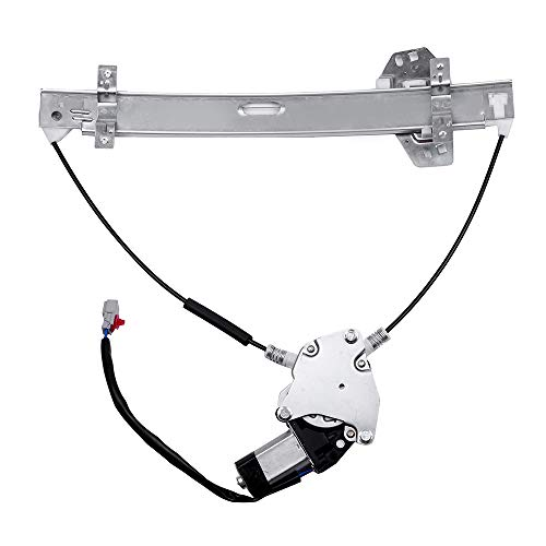 ROADFAR Power Window Regulator and Motor Replacement Parts fit for 2001-2005 Honda Civic 2 Door Coupe Front Right Passengers Side 72210S5PA02 741-301