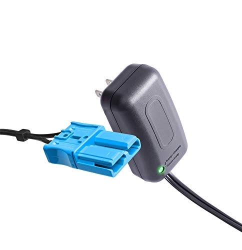 X PWR 12 Volt Battery Charger for Kid Trax Child Ride On Car, 12V Charger with Anderson Connector for Dodge Ram 3500 Dodge Police Car Dodge Viper Mecerdes ML63 CAT Bulldozer