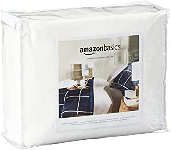 Amazonbasics Fully-encased Waterproof Mattress Protector - Queen, Standard 12 To 18-inch Depth 0