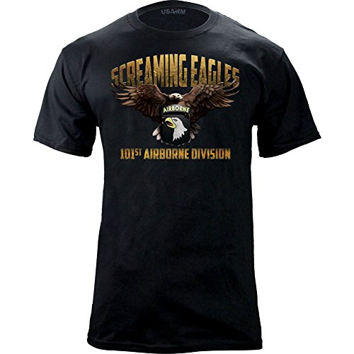 101st-Airborne-Screaming-Eagles-Graphic-T-shirt