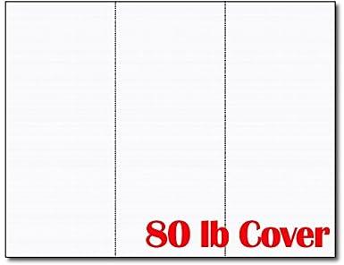 Amazon Com 3up 80lb White Linen Textured Menu Cards Connection