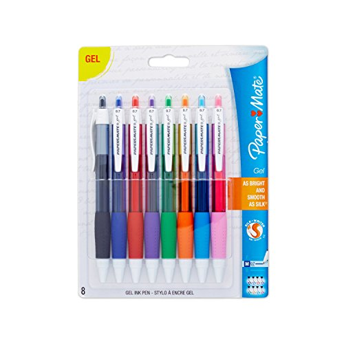 paper-mate-medium-point-retractable-gel-pens-assorted-colors-8-count